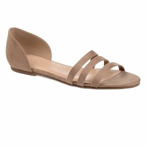 American Eagle Outfitters tan nude flats size 9